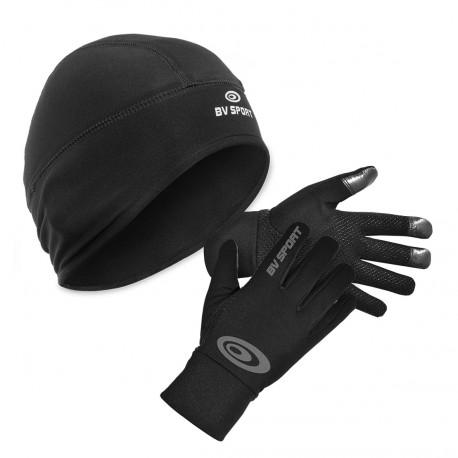Pack hiver - bonnet sport et gants