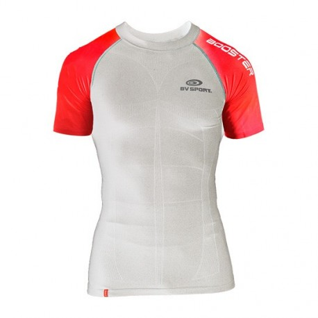 Compression Shirt SKAEL White&Red