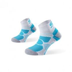 Socquette Running Bleu