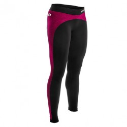 Legging anticellulite Noir/Rose