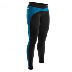 Legging anticellulite Noir/Bleu