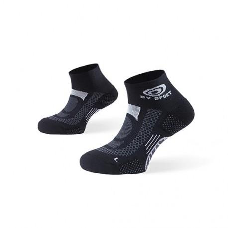 Light one socks in black