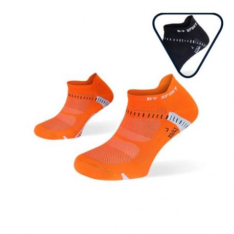 Pack calze corte Light One Arancione e Nero