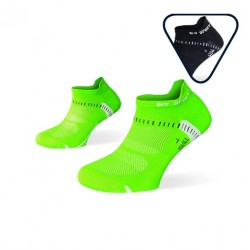 Pack ankle socks Light One Green and Nero