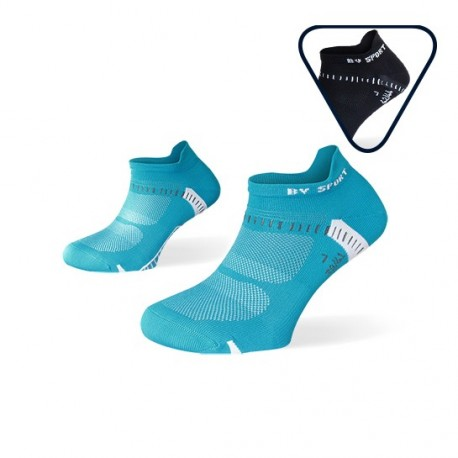 Pack ankle socks Light One Blue and Nero