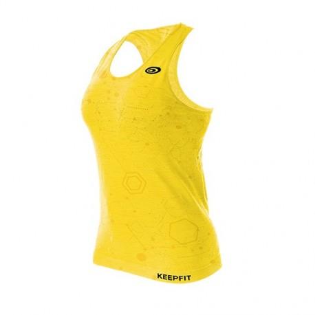 Débardeur KEEPFIT heather yellow