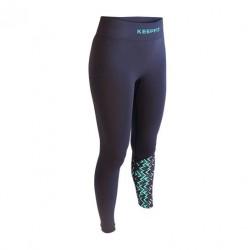 Pantalone sport anti-cellulite OSLO KEEPFIT blu-verde | Collector edition