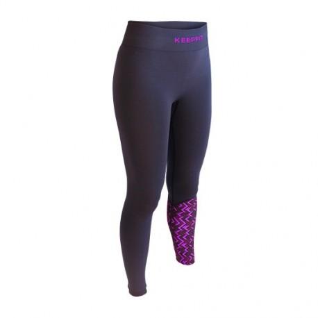 Pantalone sport anti-cellulite SEVILLE KEEPFIT blu-rosa | Collector edition