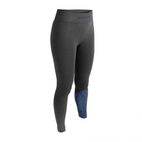 Pantalone sport anti-cellulite DETROIT KEEPFIT grigio-blu | Collector edition