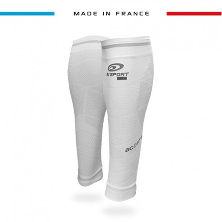 Calf sleeves Booster Elite EVO2 white