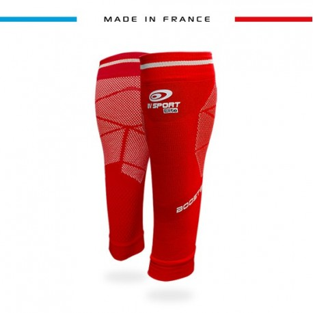 Calf sleeves Booster Elite EVO2 red