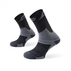 Hiking socks TREK+ grey-charcoal grey