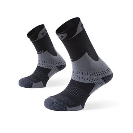 Socquettes randonnée TREK+ gris-anthracite