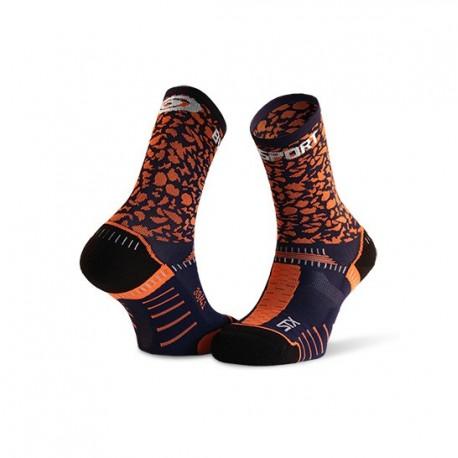 Socquette_STX_EVO_bleu/orange-collector_edition