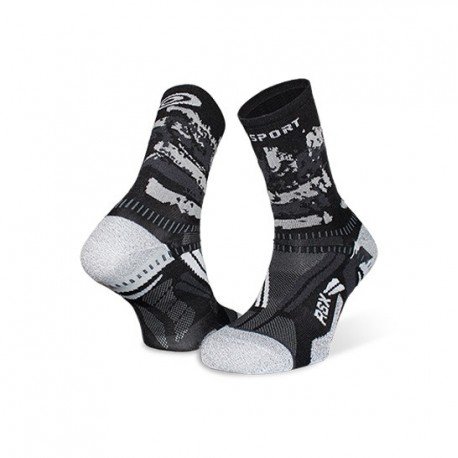 Ankle_socks_RSX_EVO_Black/grey-collector_edition