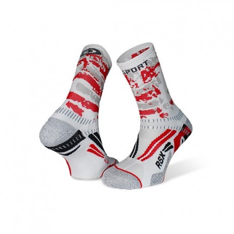 Ankle_socks_RSX_EVO_white/red-collector_edition
