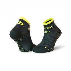 Socquettes SCR ONE EVO noir-jaune
