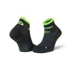 Socquettes SCR ONE EVO noir-vert