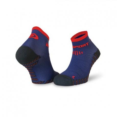 Socquettes SCR ONE EVO bleu-rouge