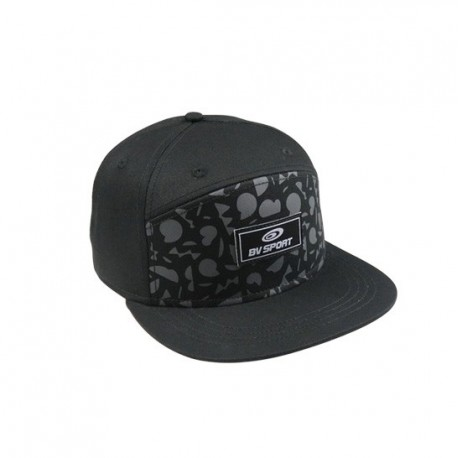 cappucci Flatcap GRAFIK nero-grigio