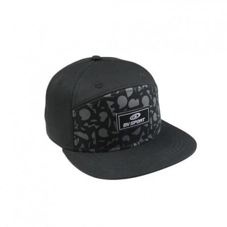 Flatcap GRAFIK black-grey
