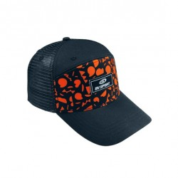 casquette Trucker GRAFIK bleu-orange