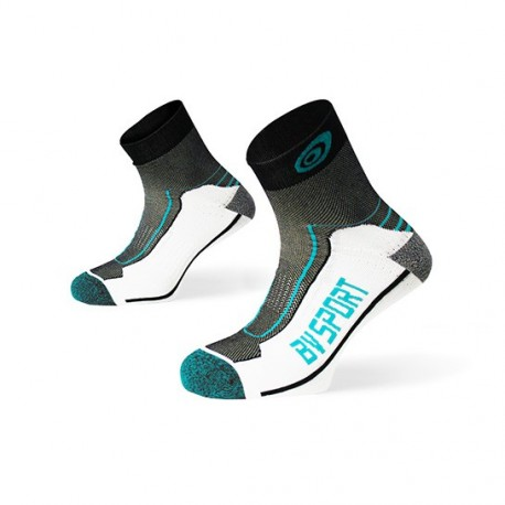 "Double ""polyamid"" TREK ankle Socks black-blue"