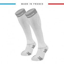 Compression socks XLR EVO White/Grey