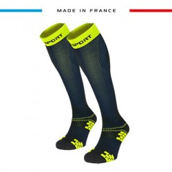 Compression socks XLR EVO Blue/Yellow