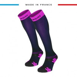 Compression socks XLR EVO Blue/Pink