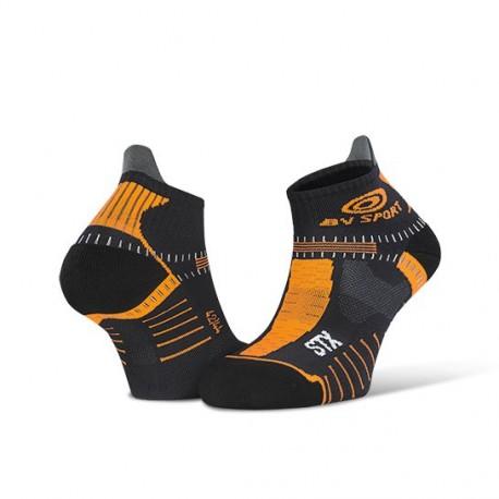Socquette_STX_EVO_noir/orange