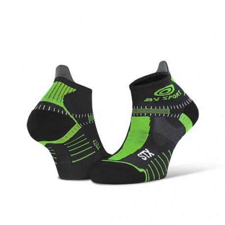 Socquette_STX_EVO_noir/vert