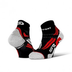 Ankle socks RSX EVO Black/Red