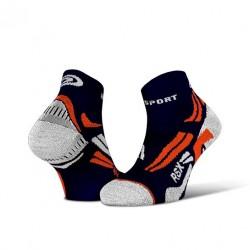 Calza corta RSX EVO Blu/Arancione