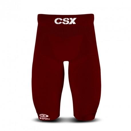 Quad short CSX bordeaux