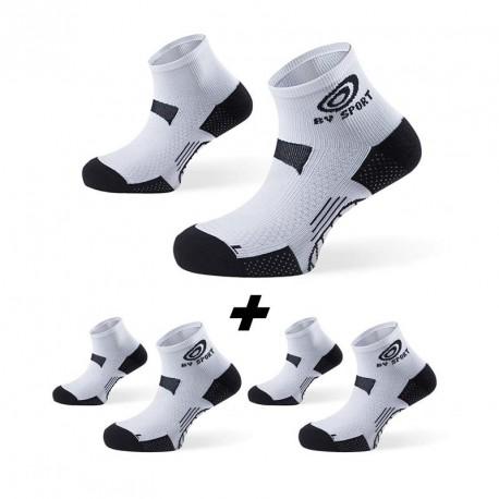 Pack 2 Socquettes STX+ EVO