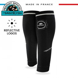 Calf sleeves Booster Elite EVO2 black Collector SaintéLyon 2019