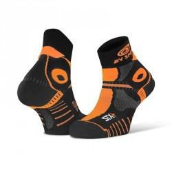 Socquette_STX+_EVO_noir/orange