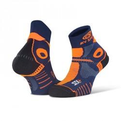 Socquette_STX+_EVO_Bleu/Orange
