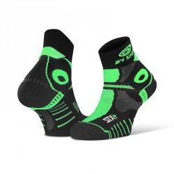 Socquette_STX+_EVO_noir/vert