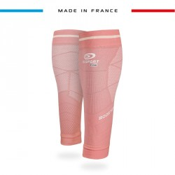 Calf sleeves Booster Elite EVO2 - Pachuca pink