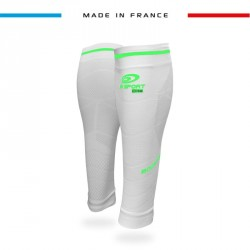 Calf sleeves Booster Elite EVO2 - Pachuca white-green