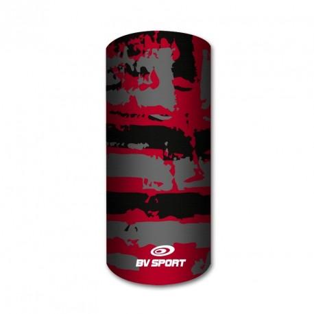 Sciarpe army rosso-grigio-nero