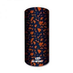 Sciarpe graphik blu-arancione