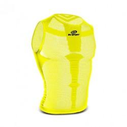 Débardeur_vélo_homme_jaune