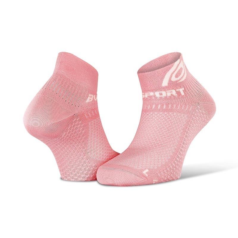 BV SPORT | Light 3D running socks pink