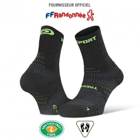 Chaussettes_randonnée_TREK+_EVO_noir-vert