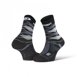 "STX EVO_socks_""Burlington""_black-grey - Collector Edition"