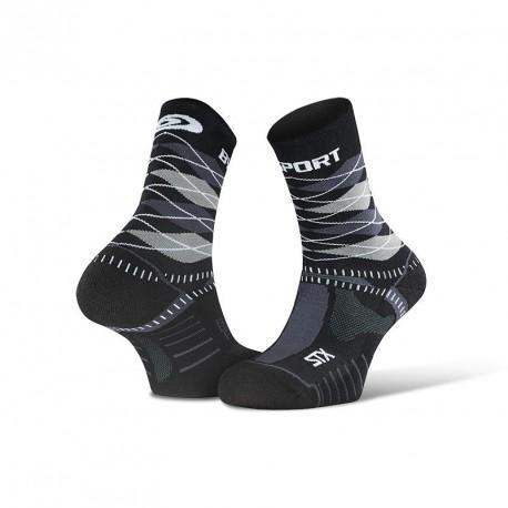 """STX EVO_socks_""""Burlington""""_black-grey - Collector Edition"""