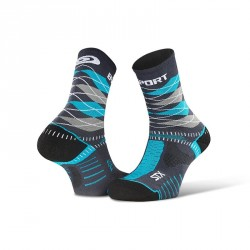 "STX EVO_socks_""Burlington""_grey-blue - Collector Edition"